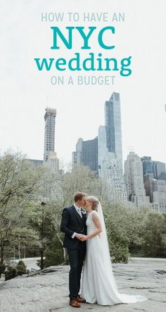If you've always dreamed of an NYC wedding but are on a budget, this post is for you! Learn how you can get married in Central Park! Wedding Advice, Wedding Planning Tips, Budget Wedding, Wedding Quotes, Central Park Weddings, Central Park Nyc, Weddings Under 5000, Park In New York, Wedding Trends