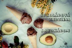 Čokoládová zmrzlina s avokádom Avocado Ice Cream, Other Recipes, Camembert Cheese, Nom Nom, Frozen, Dairy, Chocolate, Breakfast, Cake