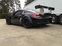 ‎BGB Motorsports' brand new Grand-Am GX class Porsche Cayman racecar on Forgeline GA3R racing wheels.
