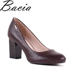 4468f4b5e4f0 101 Best Thick Heels Genuine Leather pumps images