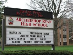 Archbishop Ryan. Class of 1989! Last class to wear navy jumper and graduate all girls!