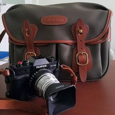 Another happy customer! Photo by (teguhswibowo on IG) of our Hadley Small with a Fuji X, thanks for sharing! Dslr Or Mirrorless, Small Camera, Popular Bags, Look Vintage, Blue Canvas, Brass Buckle, Hadley, Casual Bags, Travel Photographer