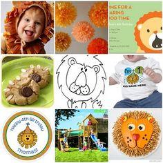 lion themed birthday ideas