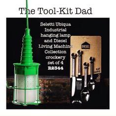 Is your dad a hands-on kinda guy? Make his #fathersday with this uber-cool tool-kit inspired gift! @selettiworld @dieselliving #Seletti #Dieselliving