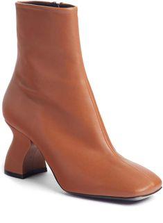 92c0376b784f Dries Van Noten Wave Heel Bootie Chelsea Støvler