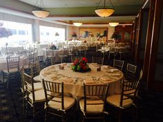 Wedding for 120 guests at The Downtown Club - Main Dining Room