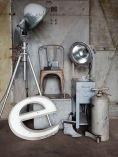 berniefotografie.nl, brocante, industriel,déco industrielle, mobilier d'usine, lampes industrielles