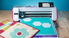 Worlds first home and hobby cutting machine with a 300 DPI built-in scanner. Scan virtually anything - from a handmade drawing to your most cherished family photo. great for patch work!!