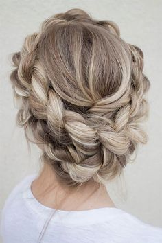 The most beautiful hair weaves – most beautiful # weaves # Hair – Hair Design Pretty Hairstyles, Wedding Hairstyles, Blonde Hairstyles, Updo Hairstyle, Hairstyle Wedding, Hairstyle Ideas, Hairstyle Tutorials, Hairstyles 2016, Crown Braid Wedding