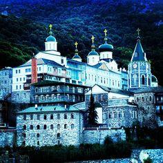 """""""#Greece #visitgreece #mountathos #agionoros #Monastery#ortodoxmonastery #panteleimon #bizantium #BeautifulWorld #history #worldtraveller"""" Photo taken by @ciprianbaciu on Instagram, pinned via the InstaPin iOS App! http://www.instapinapp.com (07/07/2015)"""