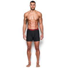 Men's Under Armour Original Series 6-inch Boxerjock Boxer Briefs, Size: Medium, Black