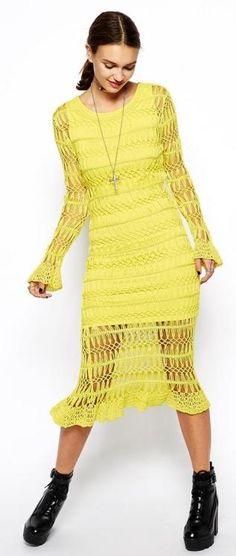 crochet dress by ASOS