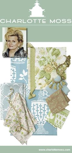 Charlotte Moss Fabrics and Trims - Calico Corners