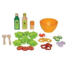 Hape Keuken Salade Hout