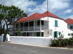 Turks and Caicos Islands - capital: Cockburn Town photo:  National Museum on Front Street