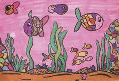 Great Barrier Reef art project