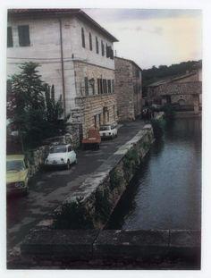 Polaroid by Andrei Tarkovsky Lot 1 - Polaroid 2 Axonometric Drawing, Michelangelo Antonioni, Waves After Waves, Russian Painting, Photo P, Bond Street, Polaroid Film, Polaroids, Les Oeuvres