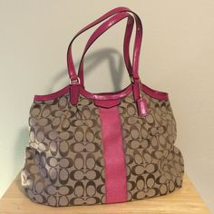 Coach Pink Handbag Brand new Coach Purse with tag! Original and completely new from the store! Coach Bags