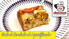 Receita de Torta de Sardinha de Liquidificador  - Tv Churrasco