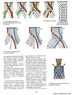 """""""Weaving Alphabet"""" .book de macramê. Parte 2 .. Discussão sobre LiveInternet - Serviço russo diários on-line"""