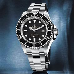 #Rolex was able to make its Sea-Dweller Deepsea, which has a water-resistance level of 3,900 meters (nearly 13,000 feet), more than 10 percent slimmer than it otherwise would have been by using an entirely new case construction. It consists of three pressure-absorbing elements: a 5.5 mm thick sapphire crystal, a 3.28 mm thick back made of grade 5 titanium, and an inner ring (on which both of them rest) made of Biodur-108 steel.