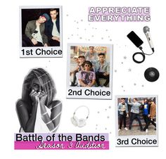 """""""battle of the bands"""" by birdy3000 ❤ liked on Polyvore featuring art"""