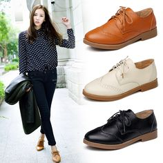 how to wear womens oxford shoes - Google Search