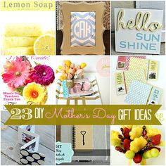 23 DIY mother's day gift ideas