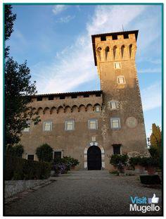 Il castello del Trebbio a San Piero a Sieve