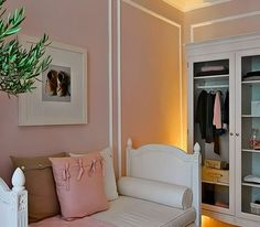 Anna Cordiero on Conspicuous Style~ Loving the idea of a house with all white furniture!