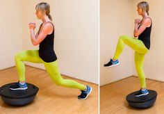 BOSU Circuit Workout from @POPSUGAR Fitness featuring 2012 sponsored athlete @Jenn L Pattee.