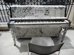 Zentangled piano