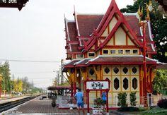 Photos by Maiju: Hua Hin old railway station