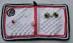 Ravelry: Baby Book Toy High Contrast with Bobble Texture pattern by Thomasina Cummings Designs