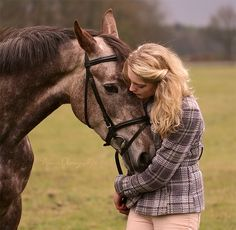 there are no words in any language that can describe the love between a woman and her horse, or a horse and his woman.