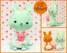 Cute Donkey  PDF Pattern