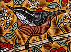 Calgary artist Lisa Brawn Woodcut gallery features painted art wood carved portraits of celebrities, wildlife, birds, circus personalities and pop art. Lino Art, Woodcut Art, Linocut Prints, Art Prints, Block Prints, Wood Engraving, Wildlife Art, Art And Architecture, Saatchi Art