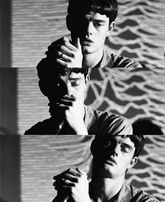 Sam Riley in Control (2007) as Ian Curtis (Joy Division)