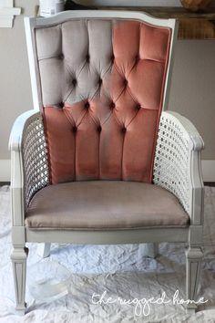 Painting Velvet Upholstery, How To paint Velvet Upholstery the easy way