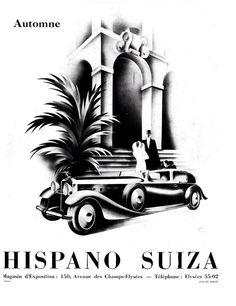 1935 Hispano-Suiza Sedanca de Ville