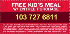 Kids Eat FREE at Chili's: Oct 15 - 17