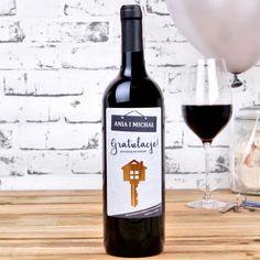 Personalizowane Czerwone Wino KLUCZ