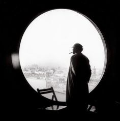 Jean-Luc Godard   photo by Richard Dumas