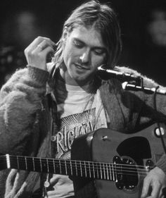 Kurt Cobain at MTV Unplugged