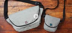 Rickshaw Bagworks from the Grommet. These look really cool!