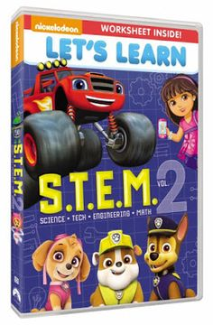 Coupon Savvy Sarah: Nickelodeon's New Let's Learn: S.T.E.M. Vol. 2  DV...