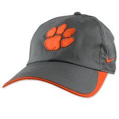 55d3b03057585 Clemson Tigers Nike Sideline Performance Heritage Adjustable Hat  clemson  Clemson Football