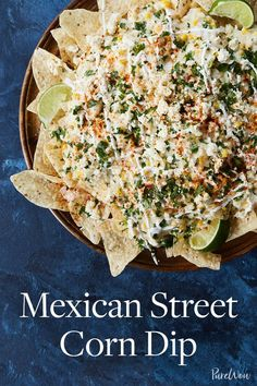 Mexican Street Corn Dip #purewow #snack #recipe #appetizer #easy #mexican