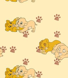Baby Simba and Nala Wallpaper by #LionKingPride on deviantART