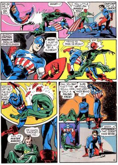 captain america  1   CAPTAIN AMERICA - Joe Simon and Jack Kirby's greatest creation